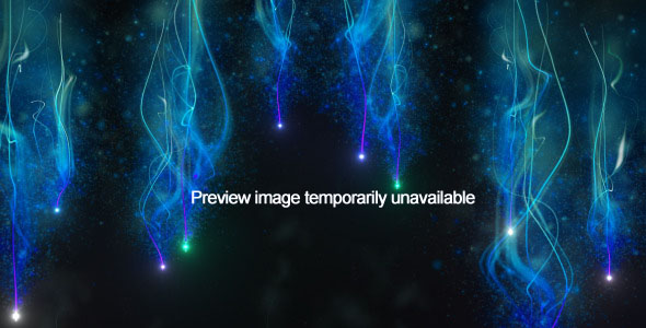 After Effects Project - VideoHive Bokeh Bubbles on blue background 39448